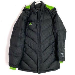 EUC Adidas UEFA Championship League Parka Jacket L